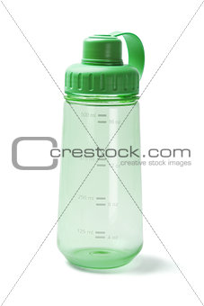 Green Plastic Water Bottle