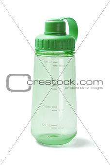 Green Plastic Water Bottle