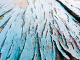 texture of wood with old color blue background
