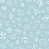 Gorgeous snowflakes background