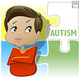 Autism in kids is characterized by impaired communication and interaction behaviors