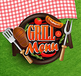 BBQ Grill menu.