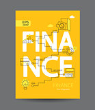 Modern infographic of finance concept.