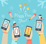 Mobile New Year 2017.