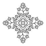 Floral Mandala Stencil