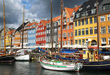 Nyhavn (new Harbor) in Copenhagen, Denmark