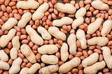 Background with peanuts.