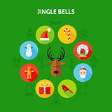 Jingle Bells Infographic Concept