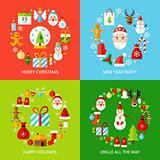 Merry Christmas Concepts Set