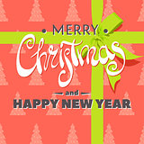 Beautiful Christmas greeting inscription