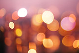 Abstract blurred background with bokeh