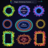 Magic Christmas Frames Set4