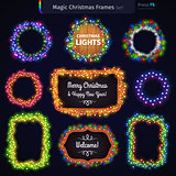 Magic Christmas Frames Set
