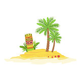 Beach Hawaiian Vacation Classic Symbol