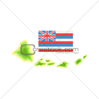 Flag Hawaiian Vacation Classic Symbol