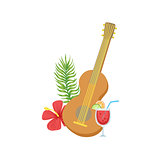 Guitar Hawaiian Vacation Classic Symbol