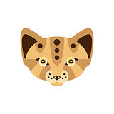 Fennec Fox African Animals Stylized Geometric Head
