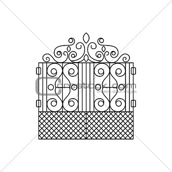 Classic Vintage Lattice Fencing Design