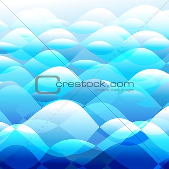 Background vector water