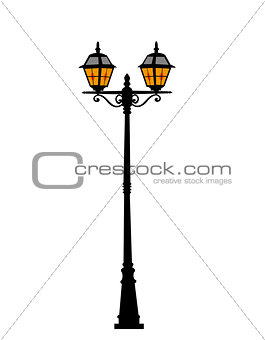 City street lantern