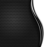 Metal texture perforated background