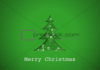 Green Christmas Greeting