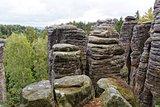 sandstone rocks - Prachovske skaly (Prachov Rocks)
