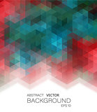 Vector Illustration. Abstract geometric colorful background