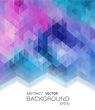 Abstract vector geometric colorful background