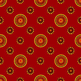 Abstract East seamless pattern background.