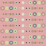 Beautiful pastel circles  background.
