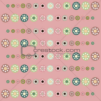 Beautiful pastel circles  background.