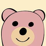 Bear Funny cartoon animal toy.