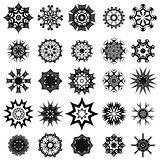 Tribal Rosette Tattoo Design