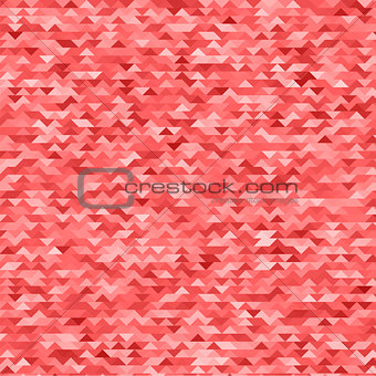 Abstract Mosaic Red Background