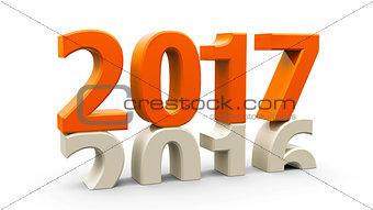 2016-2017 orange