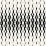Vector Seamless Black and White Halftone Random Squares Pattern
