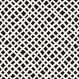 Vector Seamless Hand Drawn Diagonal Grid Pattern
