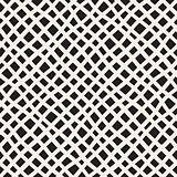 Vector Seamless Hand Drawn Diagonal Grid Pattern
