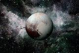 Solar System - planet Pluto.