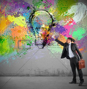 Paint an idea
