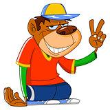 Cool monkey