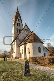 Church on Gotland, Sweden