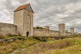 Town Wall in Visby, Sweden