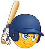 Baseball batter emoticon