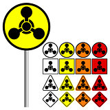 Chemical Weapons Symbol Icon