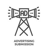 Advertising submission icon