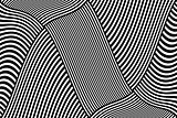Striped lines design. Abstract background.