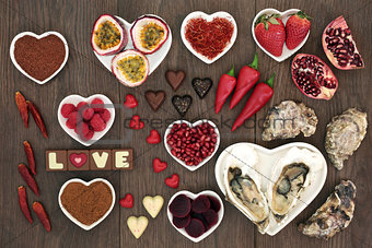 Aphrodisiac Love Food