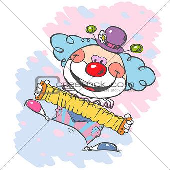 circus clown artist